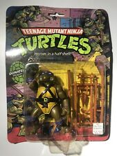 TMNT Hard Head Donatello 1988 10 Back MOC Don New Sealed Transition Rare