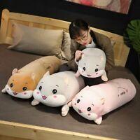 Soft Pillow Hamster Plush Toy Anime Stuffed Doll Animal Long Soft Cushion Gift
