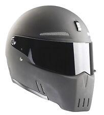 Bandit casco Alien II 2 negro mate motocicleta Casco casco integral con ECE l 59/60
