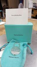 Vintage Tiffany & Co 1837 Padlock Key Ring/Necklace