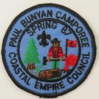 Coastal Empire Council 1987 Spring, Paul Bunyan Camporee [H3638]