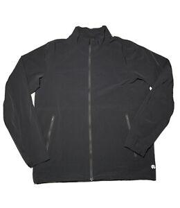 Reigning Champ Mens Nylon Windbreaker Jacket sz M Medium Black