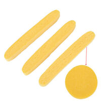 12x Compressed Facials Cleaning Wash Puff Sponges Stick Faces Cleansing Pads HC