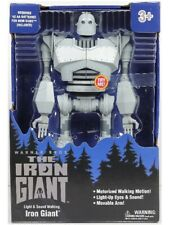 Goldlok The Iron Giant Light and Sound Motorized Walking 14 Inch Figure New
