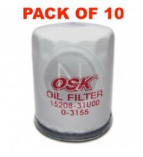 OSAKA OIL FILTER OZ547 INTERCHANGEABLE WITH RYCO Z547 (BOX OF 10)