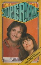 SUPERMAG  VOL 4 NO 6  1980  Mork and Mindy on the Cover and in the centerfold