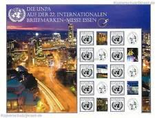 UNO WIEN - 2012 EURO GRUSSMARKEN BOGEN - 22. BRIEFMARKEN MESSE ESSEN ** 748 S 46