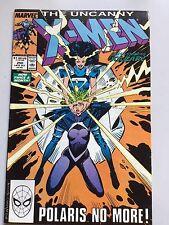 Uncanny X-Men 250 Chris Claremont Marc Silvestri Polaris No More! VFN