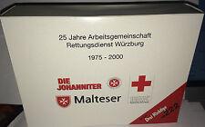 """herpa 250498 – 3er-Set """"25 Jahre Rettungsdienst Würzburg"""", H0 1:87, neu + OVP"""