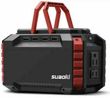 SUAOKI S270 Portable Solar Power Station, 150Wh Generator Lithium Power Supply
