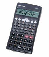 OLYMPIA Taschenrechner zweizeilig programmierbar Batteriebetrieb Rechner Schule