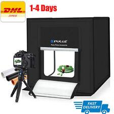 """40cm 16"""" Photo Studio Shooting Led Lighting Tent Kit Portable Mini Cube Soft Box"""