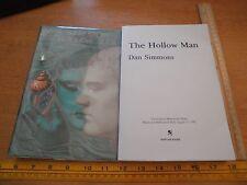 The Hollow Man Dan Simmons bound manuscript book SCARCE 1992