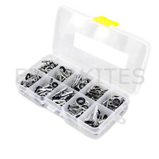 Set 90 Pcs Fishing Rod Guides Rings Sea Fishing Repair Kit For Building with Box