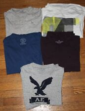 Lot of five men's America Eagle short sleeve t-shirts size M Medium AEO