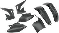 UFO Plastics UFO Complete Plastics Kit Black for Honda CRF450R 2002-2003
