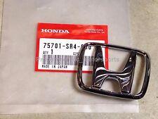 """New OEM 1993-1997 Honda Del Sol D16 B16 Si S VTEC Rear """"H"""" Emblem Badge Mark SR4"""