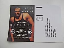 More details for peter andre. the no.1 album 1990s card.