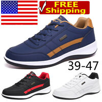 Men's Fashion Sneaker Waterproof Breathable Running Shoes Sports Casual Jogging