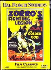 Zorros Fighting Legion - The Golden God (DVD, 2003) New
