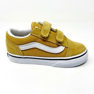 Vans Old Skool V Arrowwood True White Baby Toddler Shoes