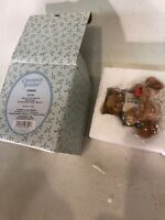 Cherished Teddies Linda ABC And 123 You're A Friend To Me Bear Figurine New