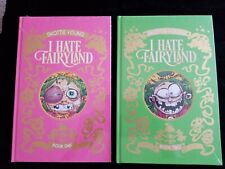 I Hate Fairyland Book One 1 and Two 2 lot Skottie Young, Hardcover Image Comics