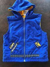 Boy's 18 Months  Vest   Hooded  Zip  Construction Baby Headquarters