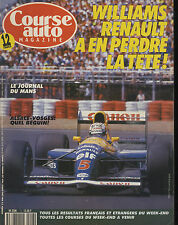 COURSE AUTO n°7 04/06/1991 GP CANADA INDY 500 F3000 JEREZ SUNNY GTI-R