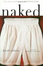 Naked by Sedaris, David Paperback Book The Cheap Fast Free Post