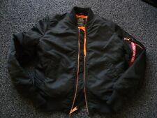 ALPHA INDUSTRIES FLIGHT BOMBER JACKET SIZE SMALL ** BARELY WORN**