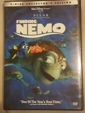Disney Pixar Finding Nemo Collectors Edition 2 Disc Dvd