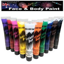 Face Paint Set 10 x 15ml Body Paint Costume Party Paint - Artistic Den® **