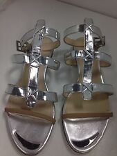 Maiyet Shoe Silver Sandle Size 40 Used Some