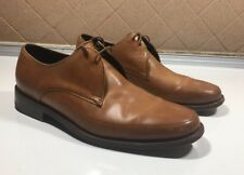 450))Tim Little Light/Brown Leather Lace-up Men's Shoes, US size 6.5