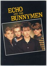 Echo And The Bunnymen - Live In Japan JAPAN PROGRAM w/POSTER January 12-18 1984