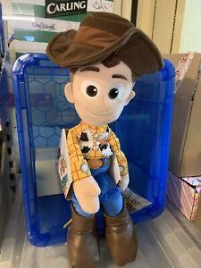 Giant Fantastic Disney Toy Story 4. Limited Quantity Soft Plush Toy. Woody 50cm.