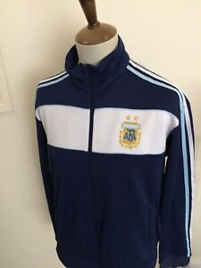 ADIDAS ARGENTINA TRACKSUIT TOP SIZE LARGE BLUE