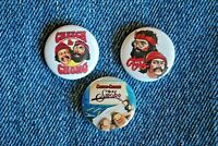 "Cheech & Chong Movie Buttons Hat Pins Badge 1"" pinback Up in Smoke LOT and"