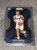 2020-21 Panini Prizm Basketball Josh Green Base Rookie Card #274