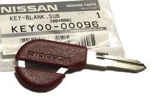 300ZX (Z32) Uncut Valet Key Blank, Red, KEY00-00096, OEM NEW!