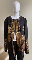 NWOT ETRO Silk Reversible Women's Jacket Blazer, IT 48/US 12