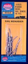 Model Power Nickel Rail Joiners x 48 6525 N Gauge