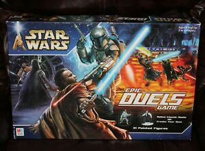 2002 Milton Bradley Star Wars Epic Duels Board Game COMPLETE in Original Box