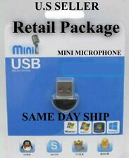 Mini USB 2.0 Wireless Microphone Plug for Skype Zoom and Video MSN