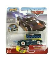 New Disney Pixar Cars Rocket Racing Jackson Storm With Blast Wall DieCast