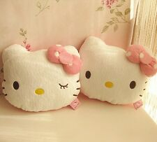 Hello Kitty Auto Car Seat Head Rest Cushion Pillows Neck Rest Pillows 1pcs
