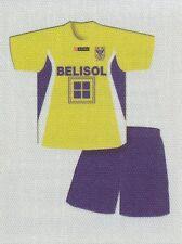 N°378 MAILLOT SHIRT# BELGIQUE SINT-TRUIDENSE.VV STICKER PANINI FOOTBALL 2011