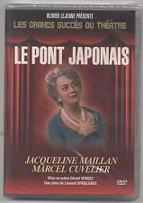 NEUF DVD PIECE DE THEATRE LE PONT JAPONAIS SOUS BLISTER MAILLAN CUVELIER