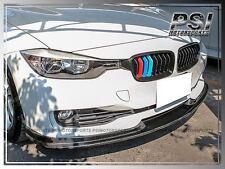 BMW F30 HM Style Carbon Fiber Front Regular Bumper Lip 320i 328i 335i